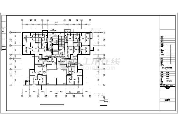 [郑州]某全套安置房给排水图纸高层哪个用图纸看v全套app图片
