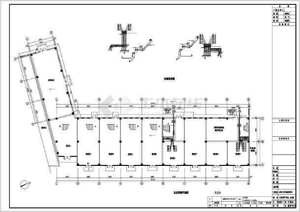 [天津]商业楼水暖施工图纸图片