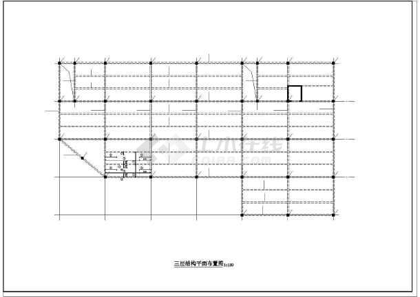 某3层百货商场全套结构设计图