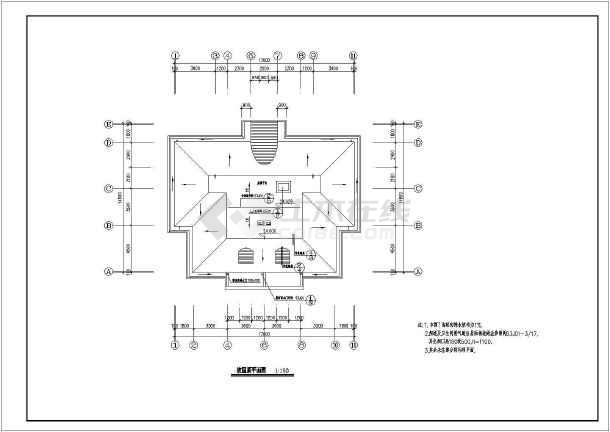 某8层复式普通住宅楼建筑cad设计图(共12张)
