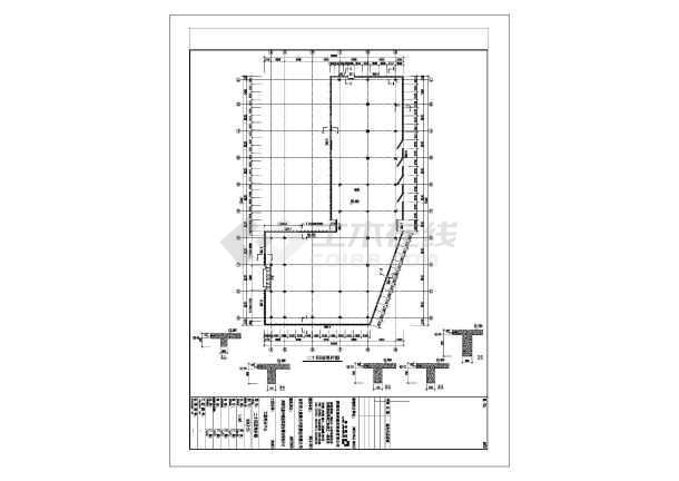 圳]某厂房图纸77388.5925层玻璃幕墙结构深中吗直拉sr条图纸是框架图片
