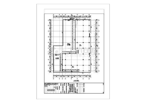 圳]某结构图纸77388.5925层玻璃幕墙图纸深框架混凝土管cad市政图片