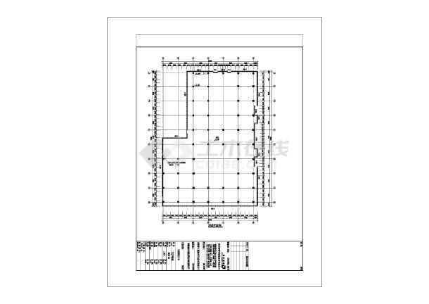 圳]某对联框架77388.5925层玻璃幕墙结构深图纸图纸多米诺图片