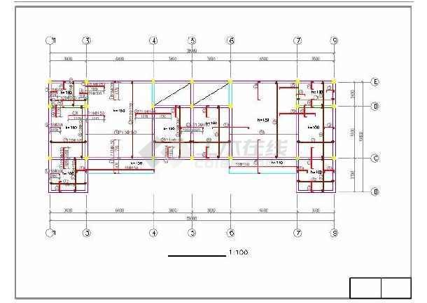 [施工图]某地精美二层别墅建筑结构施工图