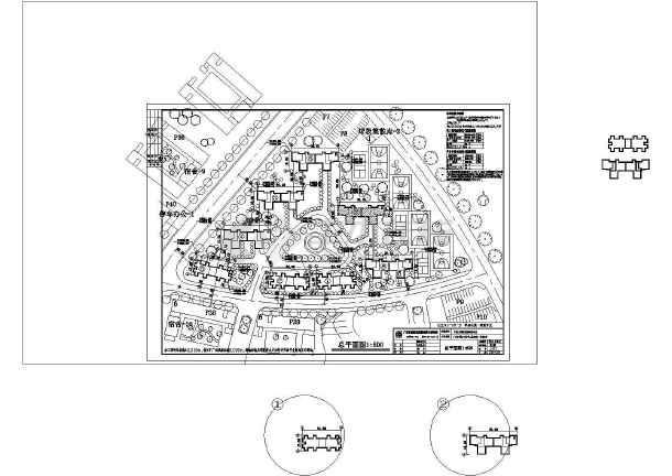 某地单身公寓建筑cad图