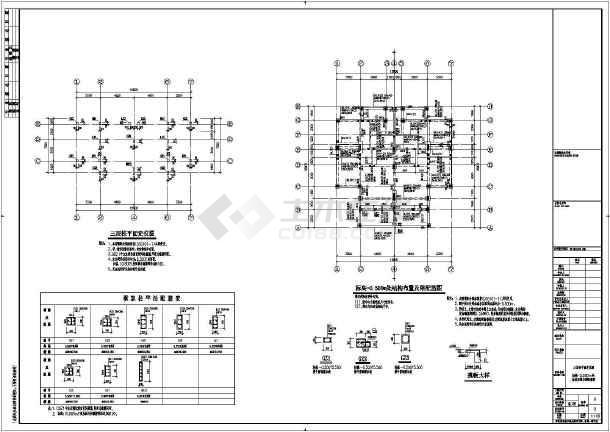 主要包括:结构设计总说明,桩基平面布置图,承台平面布置图,柱平面布置