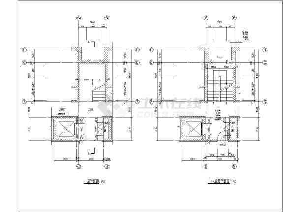 五层砌体结构住宅楼结构施工图(含建筑条形基础)