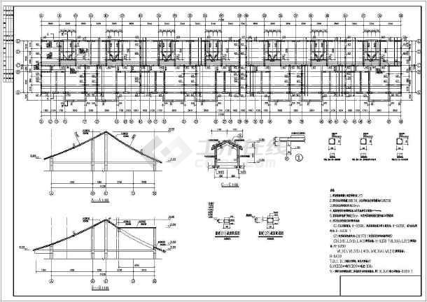 砌体结构住宅楼结构施工图(六层桩基础)