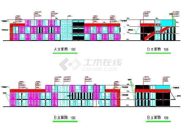 装配式集装箱宿舍CAD图纸(全套)怎么键盘保存用cad图片