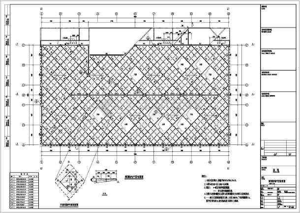 单层门式刚架结构国馆结构施工图(桩基础)