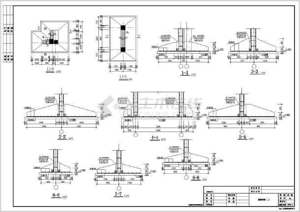 六层砌体结构独立基础住宅楼结构施工图(6度抗震)