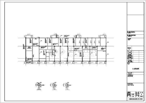 六层砌体结构条形基础住宅楼结构施工图(6度抗震)