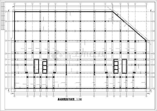 [广西]29层复杂高层住公寓楼结构设计图
