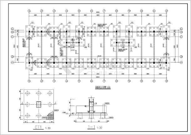 框架结构住宅楼结构施工图(五层桩基础)