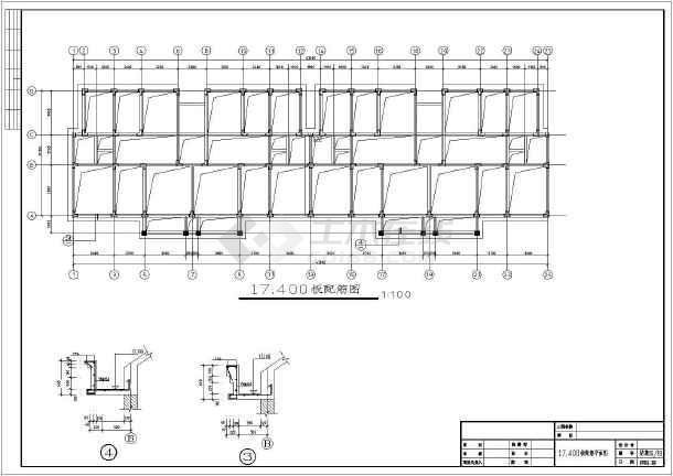 6层加阁楼框架安置小区结构施工图(含建施)
