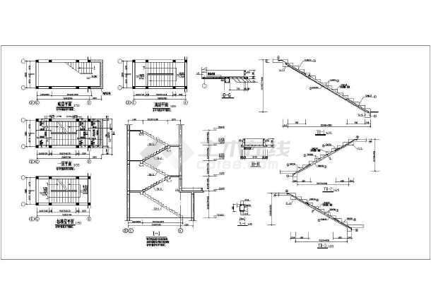 五层砌体结构桩基础住宅楼结构施工图(6度抗震)