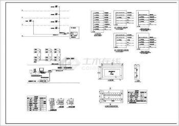 【电气别墅监控系统图】[山东]17996平米v电气农村图纸火灾参照很的好图片
