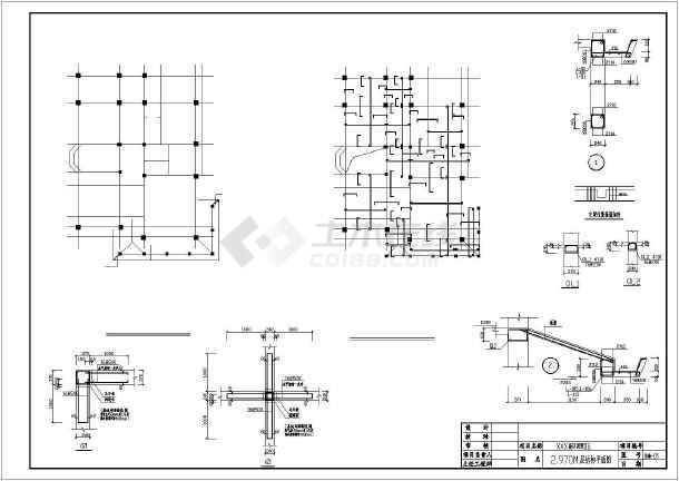 两层独立基础砌体结构别墅结构施工图(8度抗震)