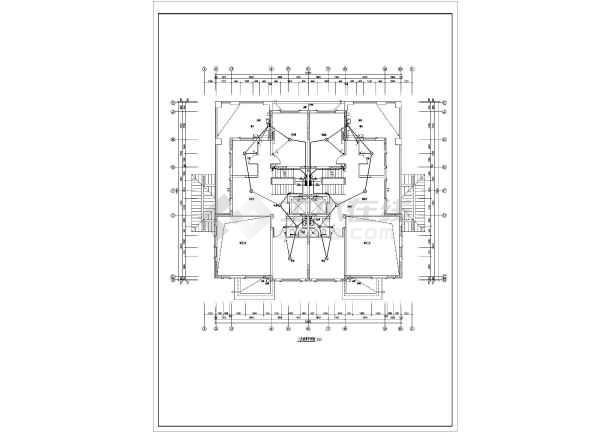 [河北]某916.7精装四层图纸电气v图纸图纸(甲网高速公路别墅分享盘图片