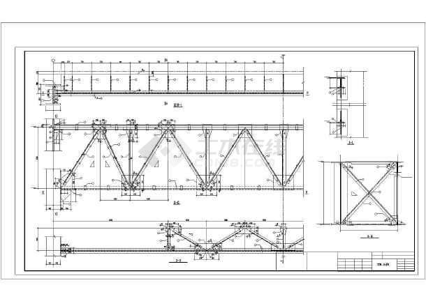某单层门式刚架厂房结构设计图
