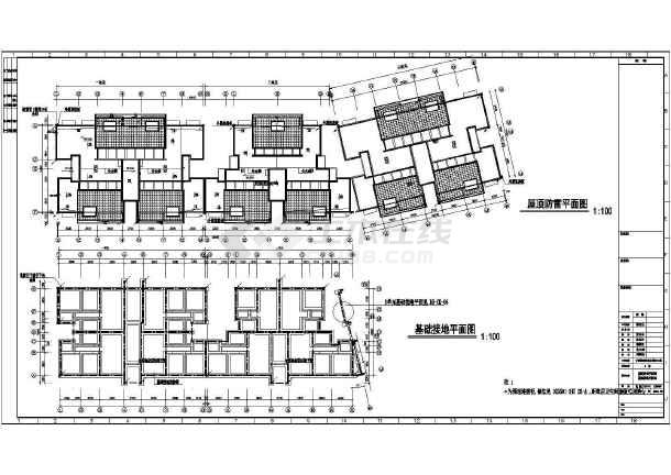 某地上六层农转非安置房电气工程v电气图纸(第阀图纸快速图片