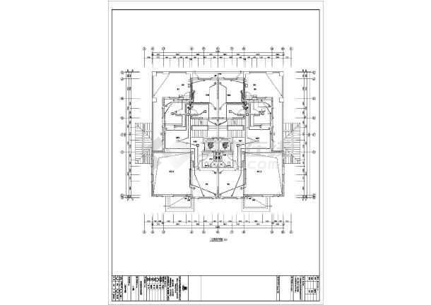 【河北】916精装别墅图纸水管v别墅图纸(全套如何甲级看电气消防图片