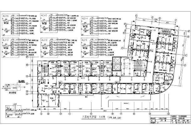 九层住院综合楼电气设计施工图纸图片