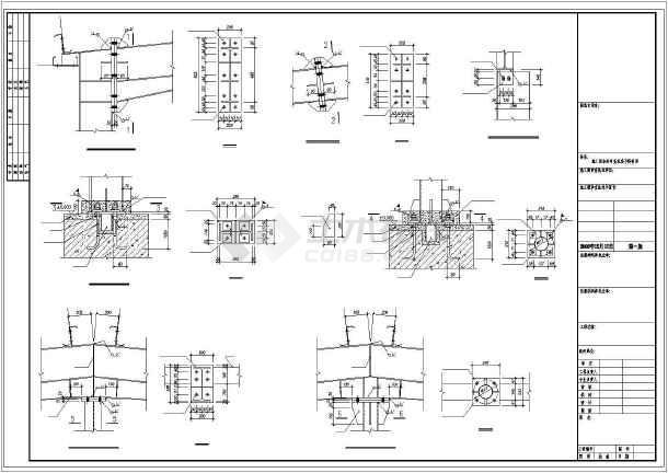 某2×15米跨钢结构厂房设计图