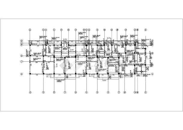 内容简介 图纸包括:结构设计总说明,基础平面布置图,柱平面布置图