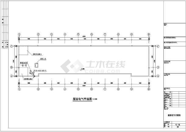 1160平方米某砖混结构小学教学楼电气设计施工图