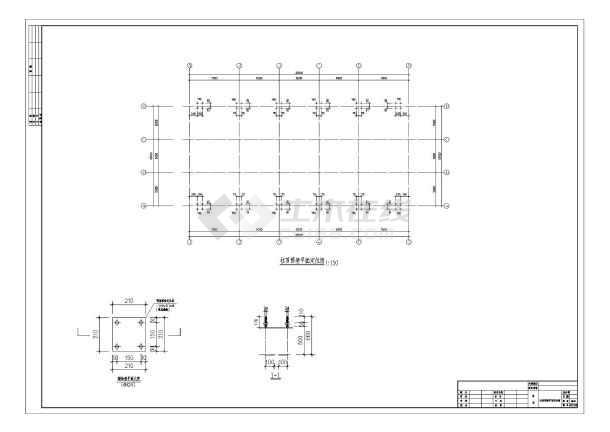 某15米跨钢结构单层厂房设计图