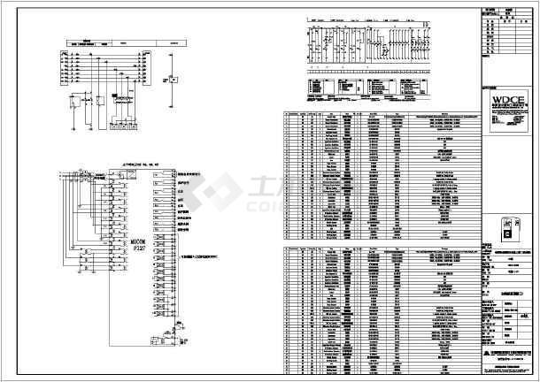 某中国移动电气办公建筑电缆施工图(变配电室,专业设计)bigd国际ui设计精品课图片