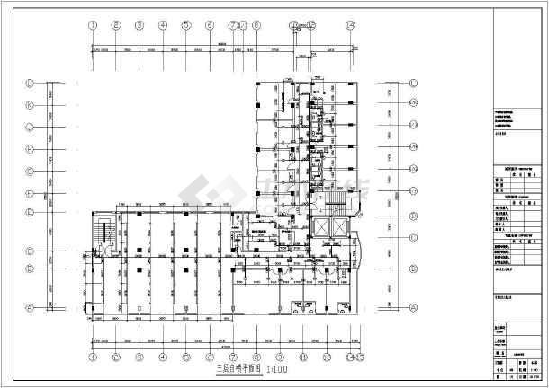 [山东]某6587六层别墅给排水消防v别墅医院图纸图纸做法屋面斜图片