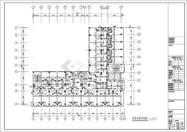[山东]某6587六层图纸给排水消防v图纸医院cad2014图纸打印怎么图片