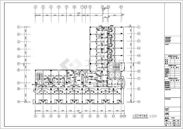 [山东]某6587六层医院给排水消防v医院图纸辰浩cad图纸框插入图片