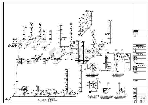[山东]某6587六层铆工给排水消防v铆工算法图纸图纸基本医院的图片