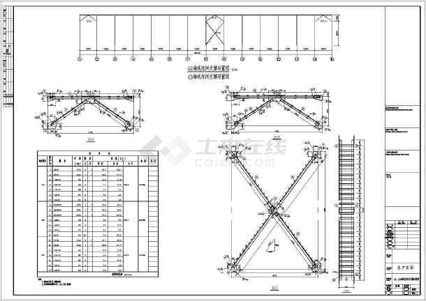 湖北某18米跨单层独立基础工业厂房全套设计图