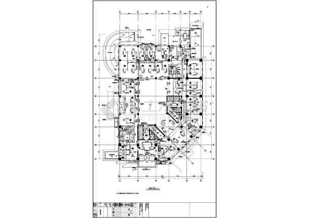 水管平面图 机房平面,剖面图 机房基础平面,剖面图 柴油发电机房燃油图片
