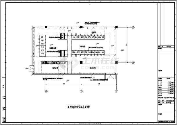 [上海]36294㎡综合商业区超市及专业卖场强电系统施工图纸49张(审图图片