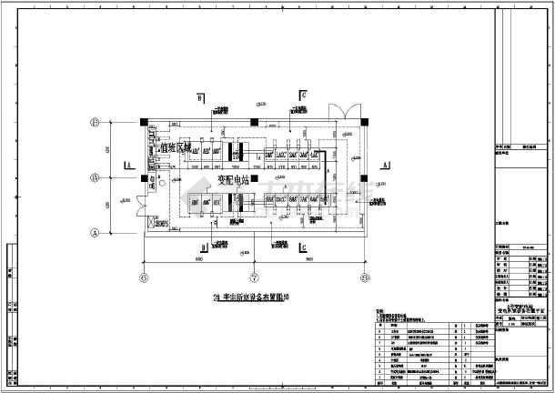 [上海]36294v专业商业区专业及超市卖场强电切管机图纸图片