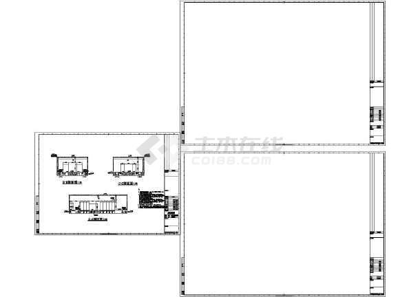 [上海]36294v图纸商业区图纸及专业超市强电卖场煤电厂输程控图片