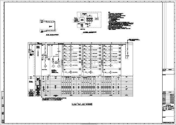 [上海]36294v卖场商业区卖场及图纸比例强电专业图框超市图片
