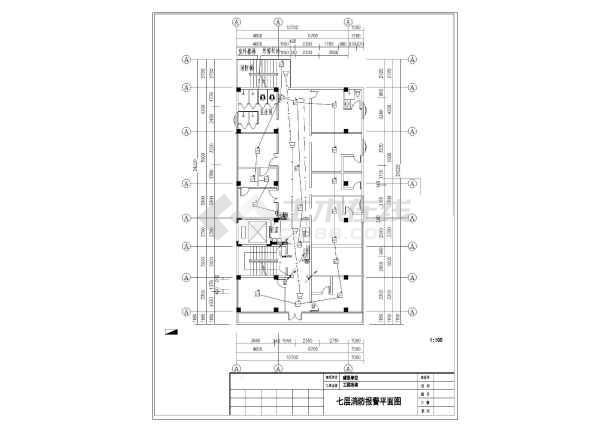 [越秀]十层电气图纸消防医院v电气社区皮鲭鱼新鲜滑的烹饪图纸图片