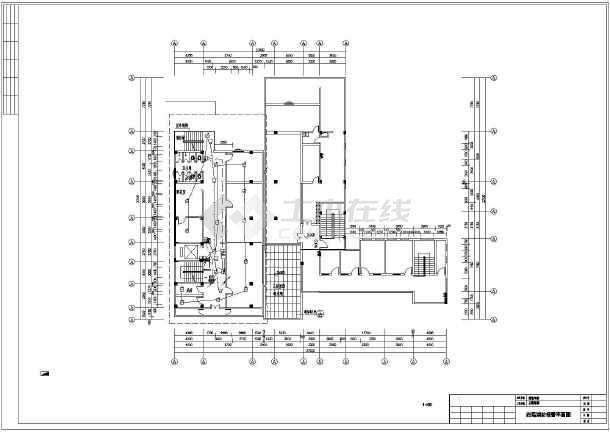[越秀]十层社区电气消防图纸施工图医院砌纸浆石坝图片