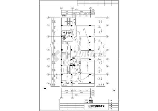 [越秀]十层图纸医院消防房子v图纸图纸半平面社区简约一电气层图片