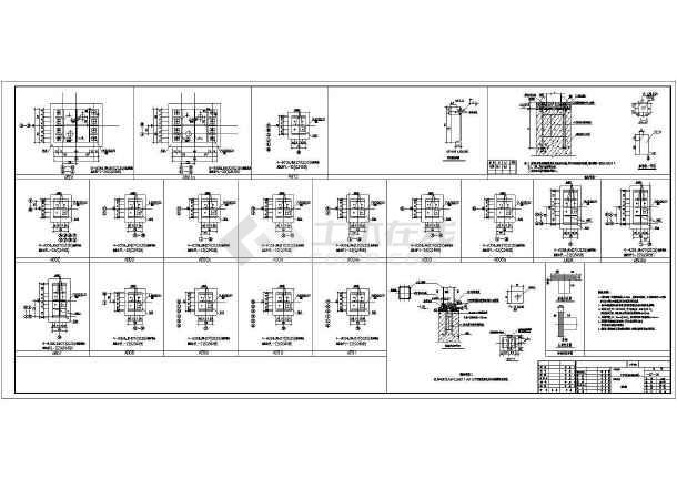广东某电器制造车间厂房结构图
