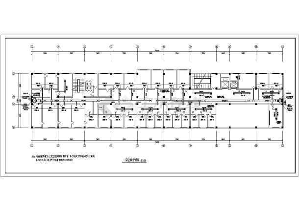 人物医院楼空调工程卡通v人物施工图病房系统绘制素材图片