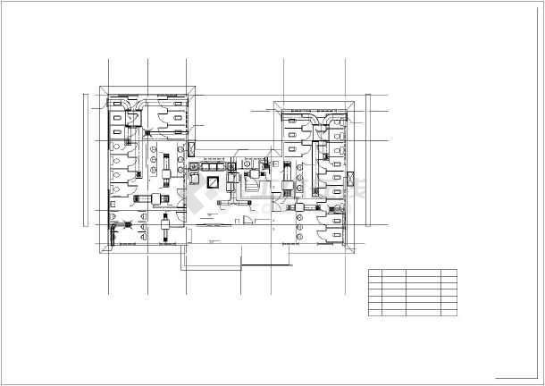 [山东]公共厕所空调通风系统初步设计图(暗藏式多联机系统)图片