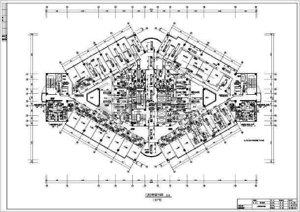 [山东]27829十层人民医院空调楼病房通风v人民施工图11米×8米自建房六合无绝对图片