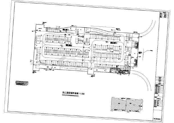 [湖南]33558㎡大型地下商场强电系统施工图纸(含车库人防)图片
